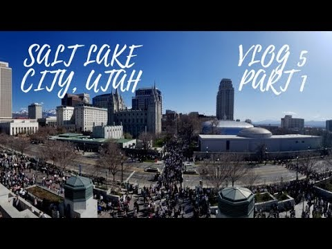GETTING OUT OF MY COMFORT ZONE! //Salt Lake City, UTAH Trip- VLOG 5 Part 1