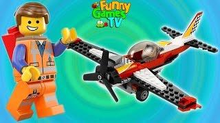 Машинки мультики игра LEGO® Juniors Create для детей про лего мультики на русском языке строим город