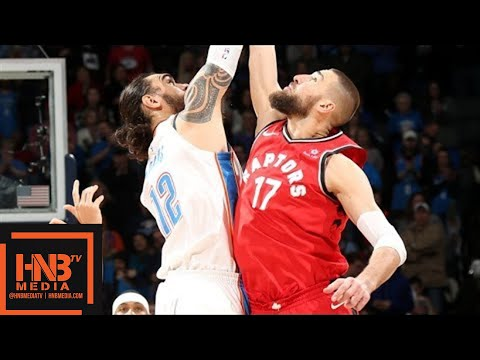 Oklahoma City Thunder vs Toronto Raptors Full Game Highlights / Week 11 / Dec 27