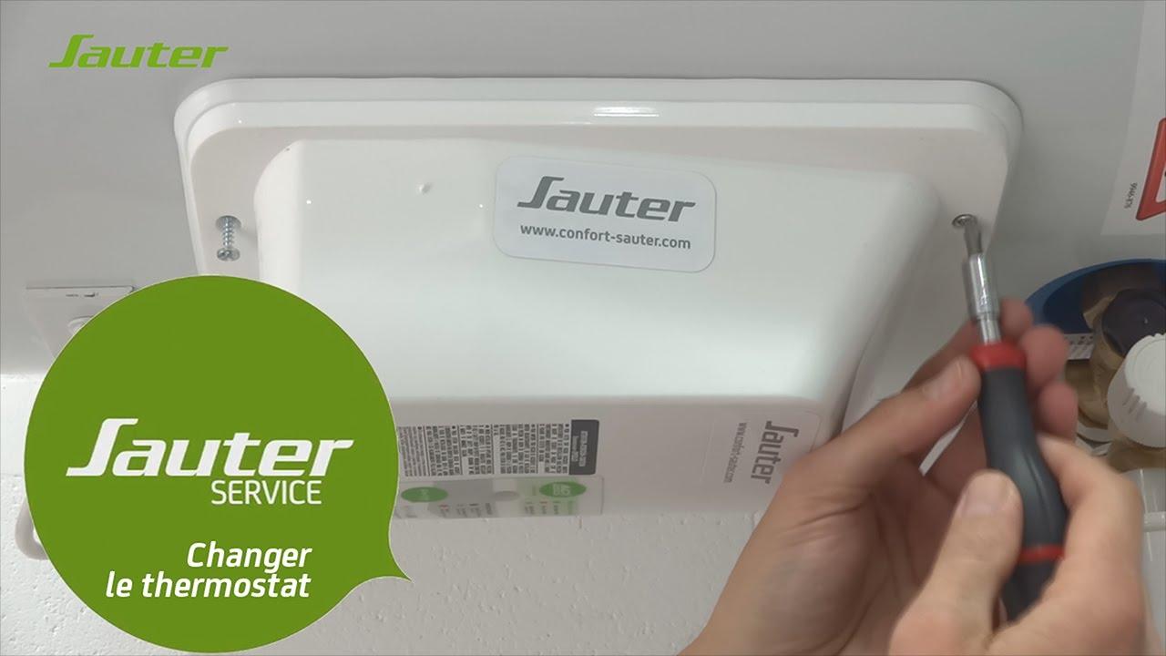 Comment Changer Le Thermostat Electronique D Un Chauffe Eau Horizontal Sauter Youtube