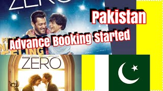 ZERO Movie Advance Booking Started In Pakistan In Limited Way