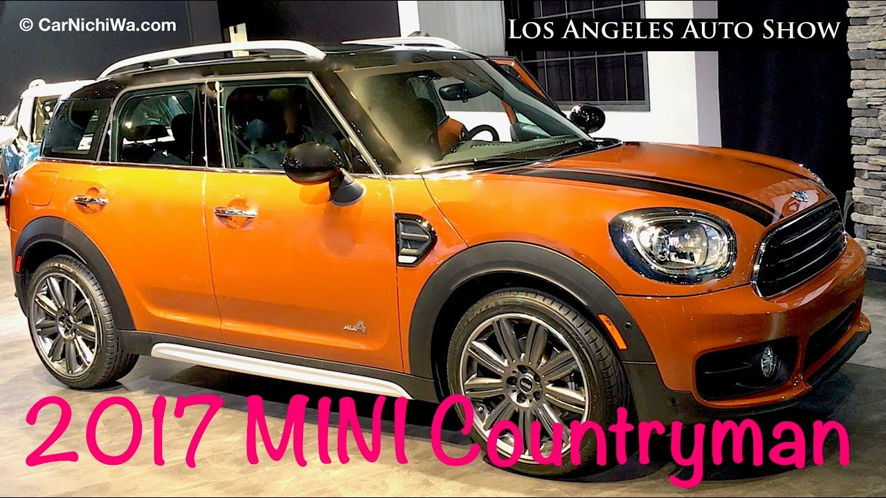 2017 mini countryman cooper s cooper s e all4 201 doovi. Black Bedroom Furniture Sets. Home Design Ideas