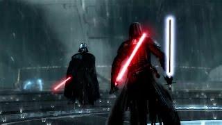 Star Wars The Force Unleashed 2 Darth Vader vs Dark Lord Stark…