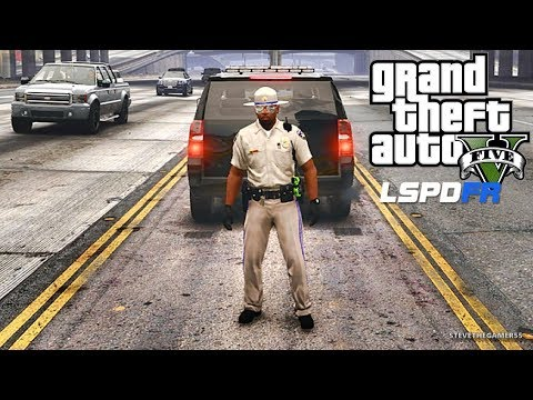 GTA 5 MODS LSPDFR 846 - HIGHWAY PATROL!!! (GTA 5 REAL LIFE PC MOD)