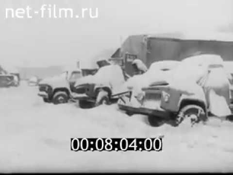 Уборка снега в Калининграде 1979 (Snow cleaning in Kaliningrad 1979)