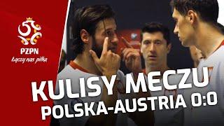 BARDZO WAŻNY PUNKT. Kulisy meczu Polska - Austria