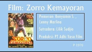 Download Video Film: Zorro Kemayoran, 1975 | Benyamin S, Lenny Marlina (Full) MP3 3GP MP4