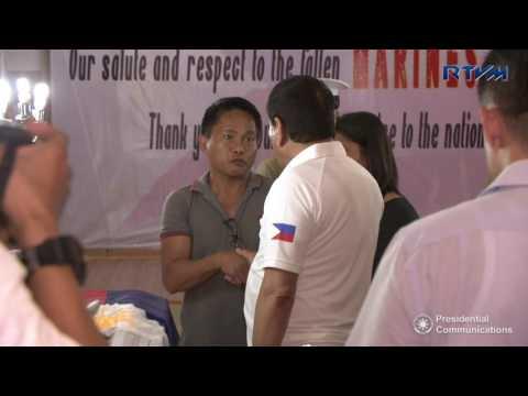 Wake Visit at the Philippine Marines Headquarters, Fort Bonifacio, Taguig City 6/11/2017