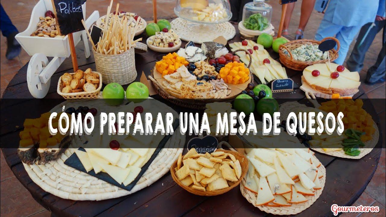 4 claves para preparar una tabla de quesos para fiestas y - Como hacer una mesa de ordenador ...