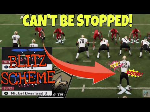 THIS DEFENSE IS CHEATING! SACKS EVERY PLAY! UNBLOCKABLE NANO BLITZ SCHEME That Stops The RUN & PASS