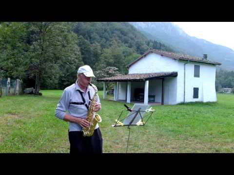 INSIEME, Lucio Battisti, Sax Contralto Giovanni Vianini, studio, Milano, It.