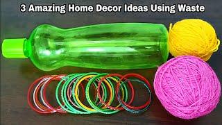 3 Amazing Home Decor Ideas Using Waste Material   Superb Home Decor Ideas