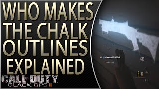 Who Makes the Chalk Weapon Outlines Explained | Who Made the Chalk Outlines in zombies