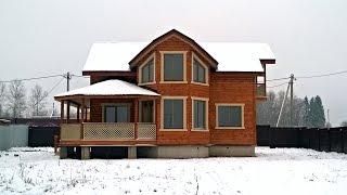 Новый двухэтажный дом общей площадью 180 кв.м. на участке 8,5 соток. в 80 км. от МКАД.(, 2016-02-19T17:39:59.000Z)