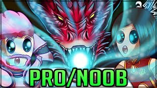 SAFI'JIIVA THE SAPPHIRE GOD - Pro and Noob VS Monster Hunter World Iceborne! #iceborne #proandnoob