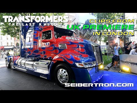 Transformers The Last Knight UK Premiere in London
