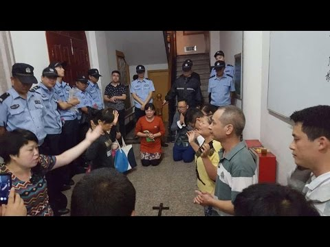 Repression of Christianity in China Meets Resistance