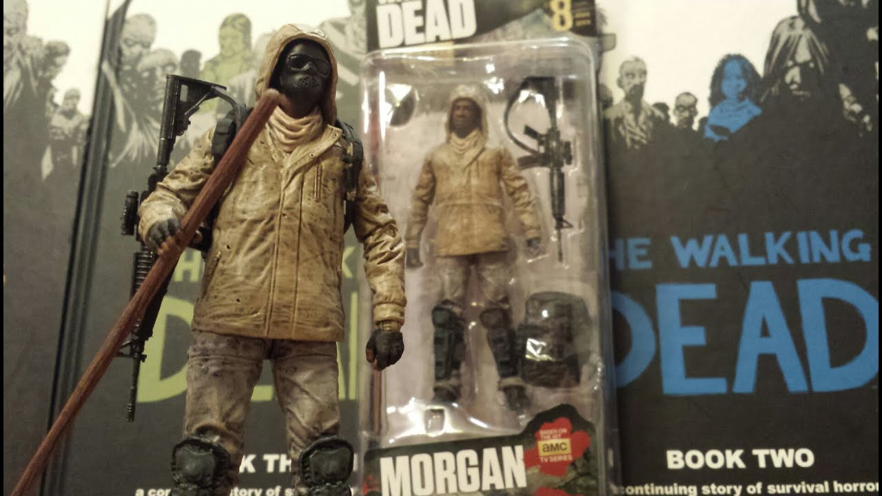 McFarlane Toys AMC The Walking Dead Morgan Series 8 Action Figure