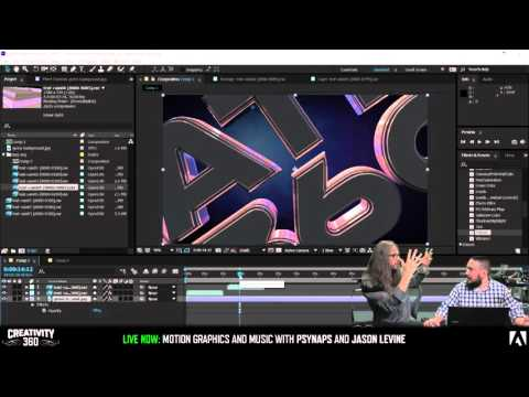 Creativity 360 Day 2 - Motion Graphics & Music w/Psynaps & Beatlejase