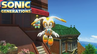 Sonic Generations (PC) [4K] - All City Escape Challenges (Modern)