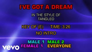 Tangled (The Movie) - I've Got A Dream (Karaoke)
