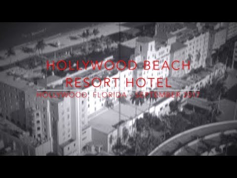 A Terrifying night @ the Hollywood Beach Resort Hotel - Spook Hunt - September 2017