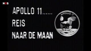 Zo zagen de Nederlanders in 1969 de maanlanding