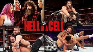 WWE Hell in a Cell 2016 Full Match Card Predictions!