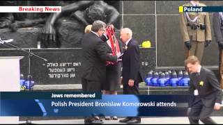 Warsaw Ghetto Uprising Anniversary: Jews and Poles honour Warsaw Ghetto Nazi victims