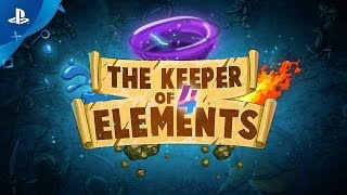 The Keeper Of 4 Elements - Gameplay Trailer | PS4, PS Vita