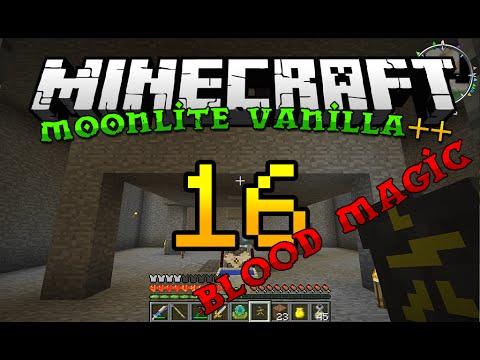Minecraft Moonlite Vanilla ++ | EP 16 | Blood Magic automated life points