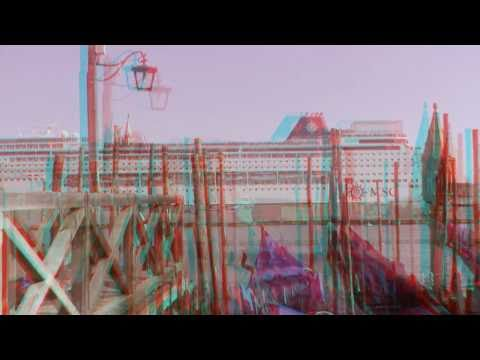 Italy HD 3D anaglyph, including Venice, Pisa, Florence, Rome and Vatican City