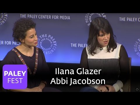 Broad City - Ilana Glazer, Abbi Jacobson, Amy Poehler, and Seth Rogen