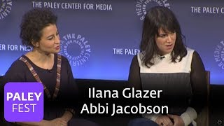 Broad City, Amy Poehler, and Seth Rogen at the Paley Center