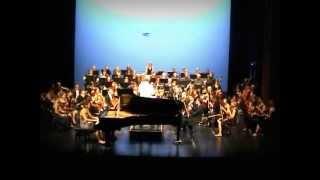 Florence Pavie Rachmaninov concerto pour piano N°2 1er mvt