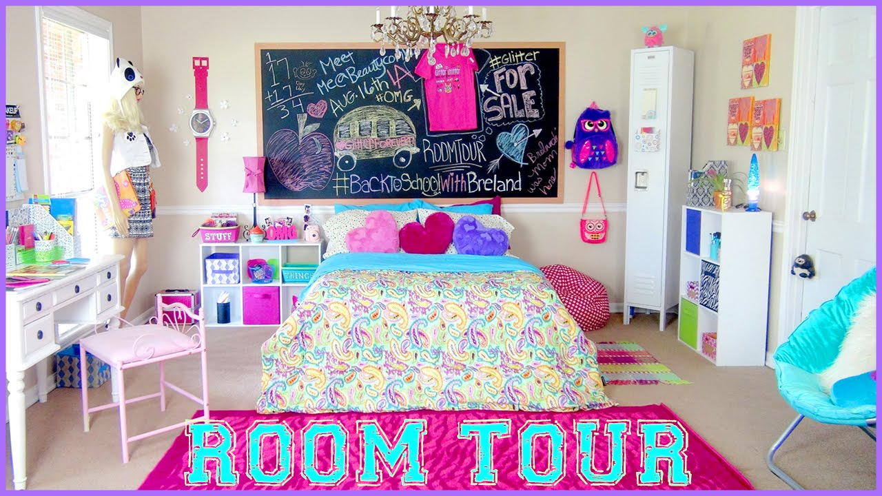 Back to school room tour youtube for Room decor ideas maybaby