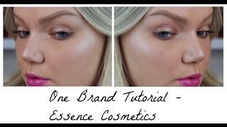 ONE BRAND TUTORIAL | ESSENCE COSMETICS