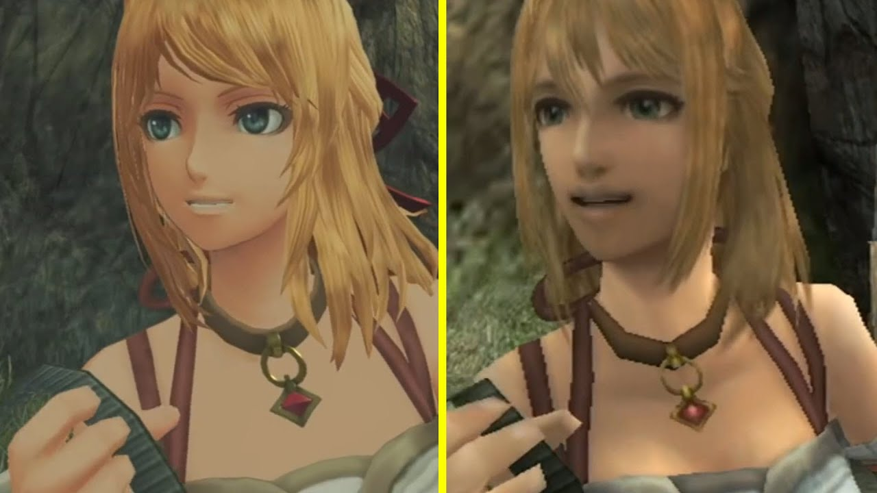 Xenoblade Chronicles Definitive Edition Nintendo Switch vs Wii ...