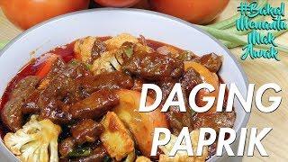 #BakalMenantuMakAwak - Daging Paprik