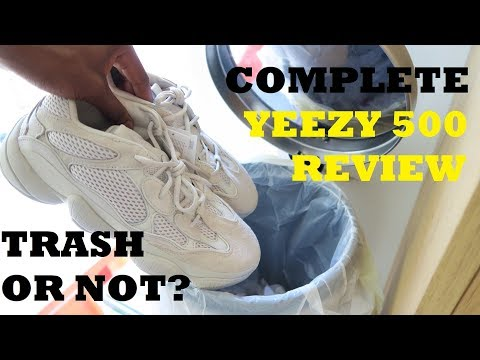 TRASH OR NOT? YEEZY 500 DESERT RAT BLUSH Review   On foot & Opinions