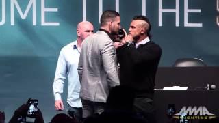 UFC 187: Chris Weidman vs. Vitor Belfort Staredown
