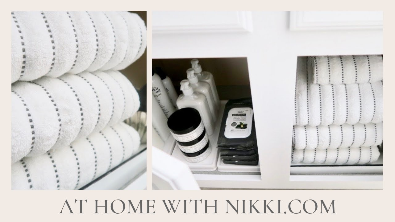 How To Organize Under The Bathroom Sink | Simple Organizing Tips