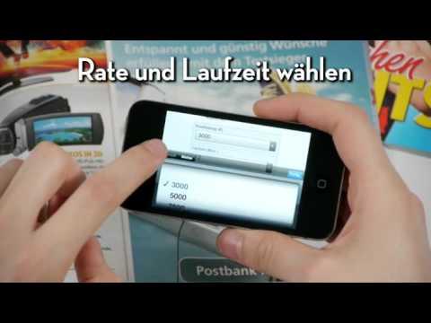 Postbank Kreditrechner