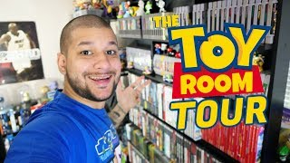The Toy Room Tour November 2019 (My Toy Collection & Video Game Collection)
