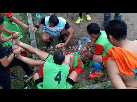 Video Amatir Detik Detik Meninggalnya Pemain Bola di Sumatera Selatan