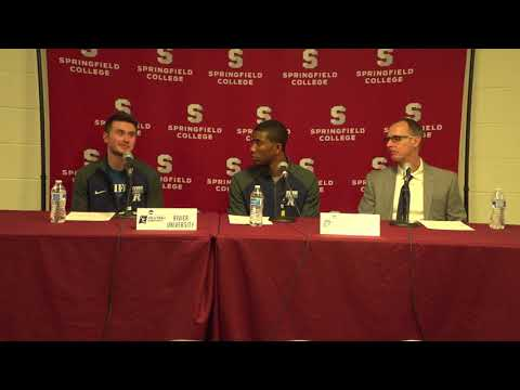 2018 NCAA Division III Men's Volleyball Championship Press Conference - Rivier University