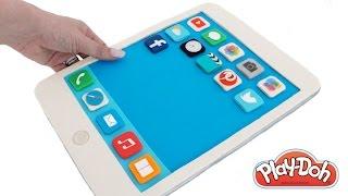 Play Doh How to Make a Play-Doh iPad Tablet DIY RainbowLearning thumbnail