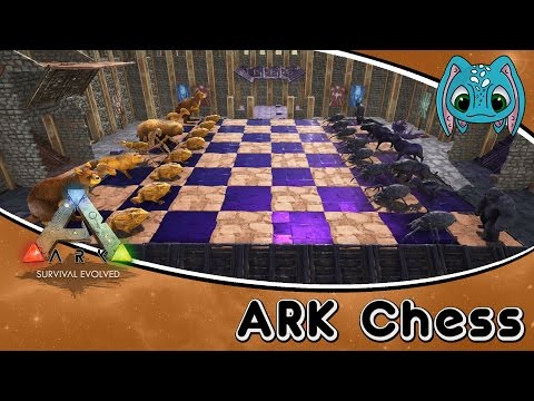 ARK: Scorched Earth Building w/ Fizz :: ARK Chess Game!!!