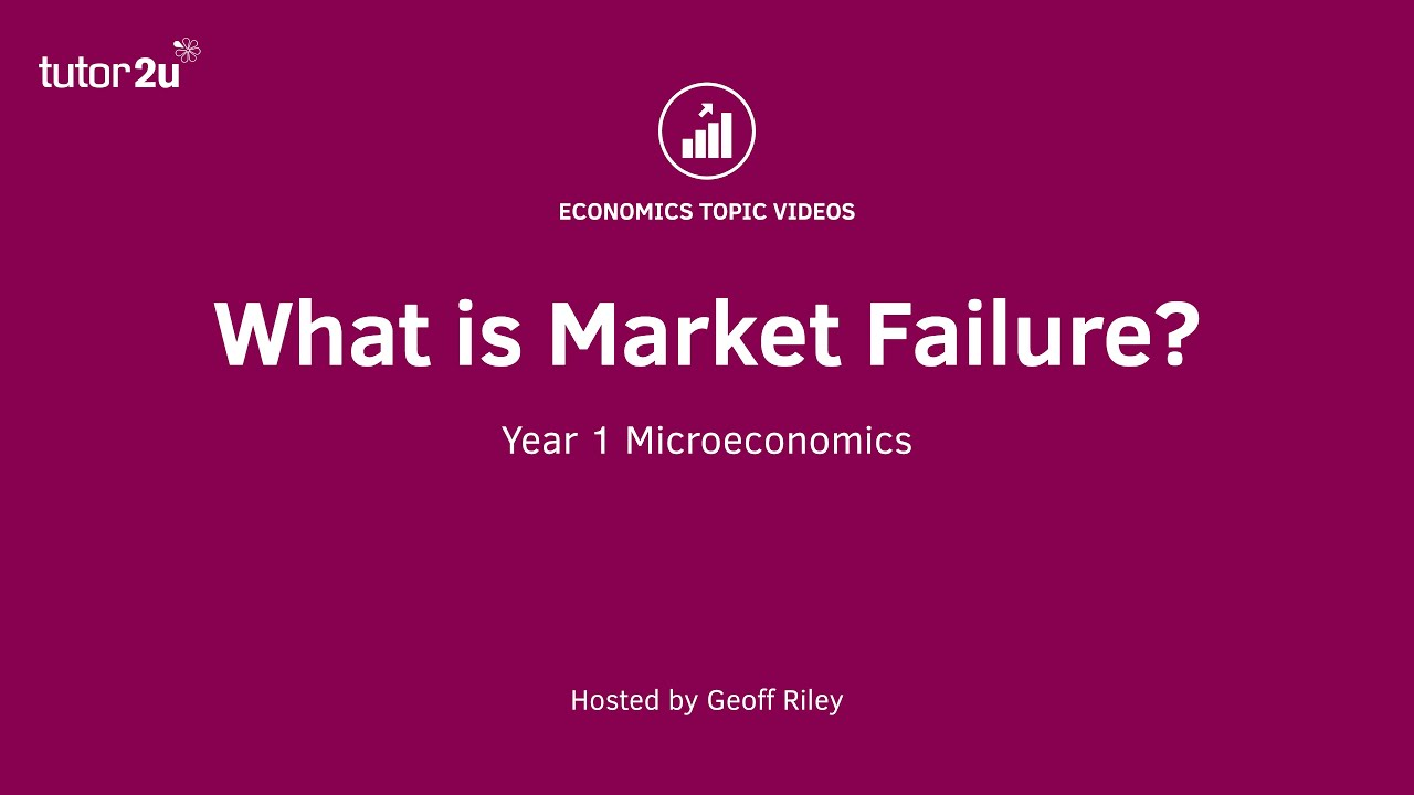 introduction to market failure economics