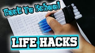 Back to School Life Hacks! 🏫 Awesome Back to School Life Hacks Everyone Should Know 🔥🔥Fire 🔥🔥